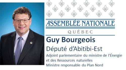 Guy Bourgeois, député d'Abitibi-Est