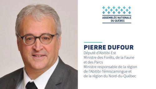 Pierre Dufour, député d'Abitibi-Est