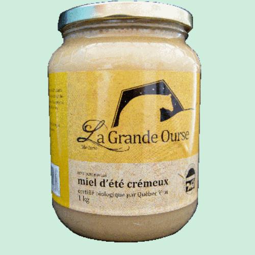 Miel d'été crémeux biologique 1kg