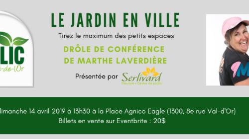 Conférence Marthe Laverdière