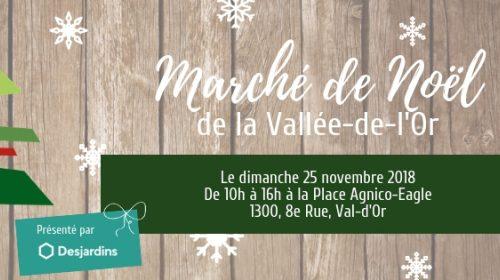 3e Marché de Noël de la Vallée-de-l'Or!