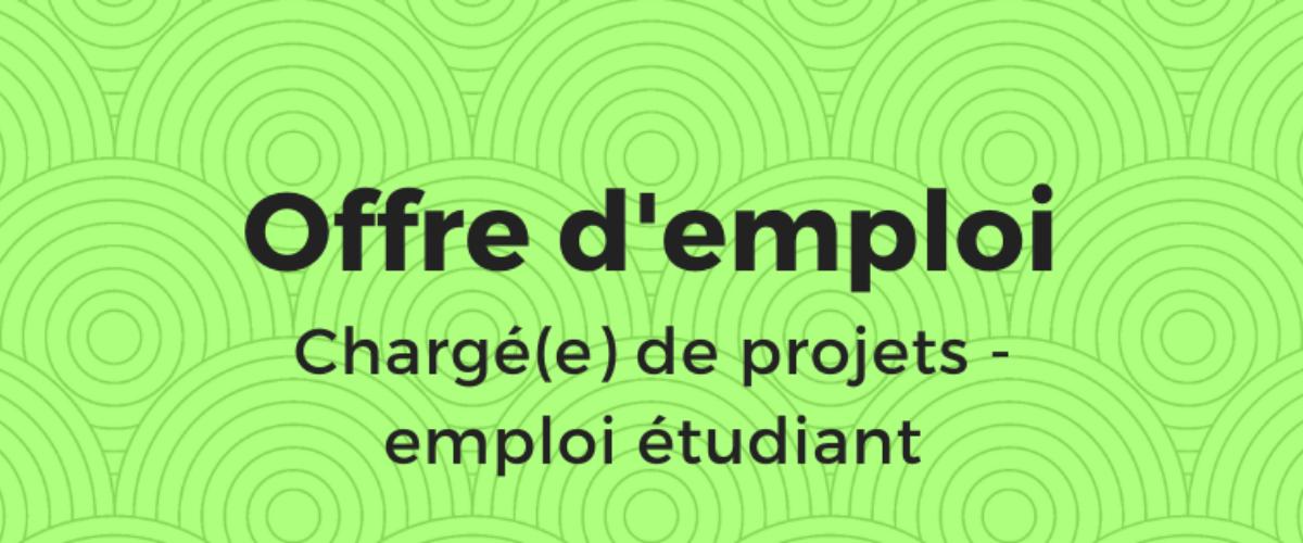 Offre d'emploi - emploi étudiant