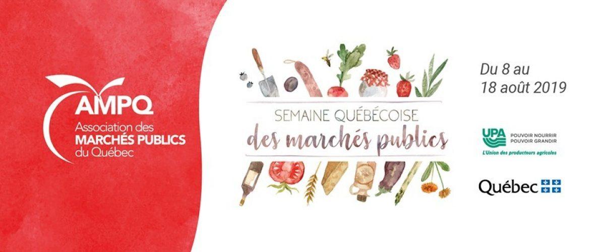 C'est la Semaine québécoise des marchés publics